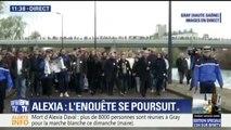 Plus de 8.000 personnes participent à la marche blanche organisée à Gray en hommage à Alexia