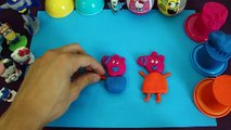 Kinder Surprise Eggs Play Doh Peppa Pig Hello Kitty киндер сюрприз [MST]