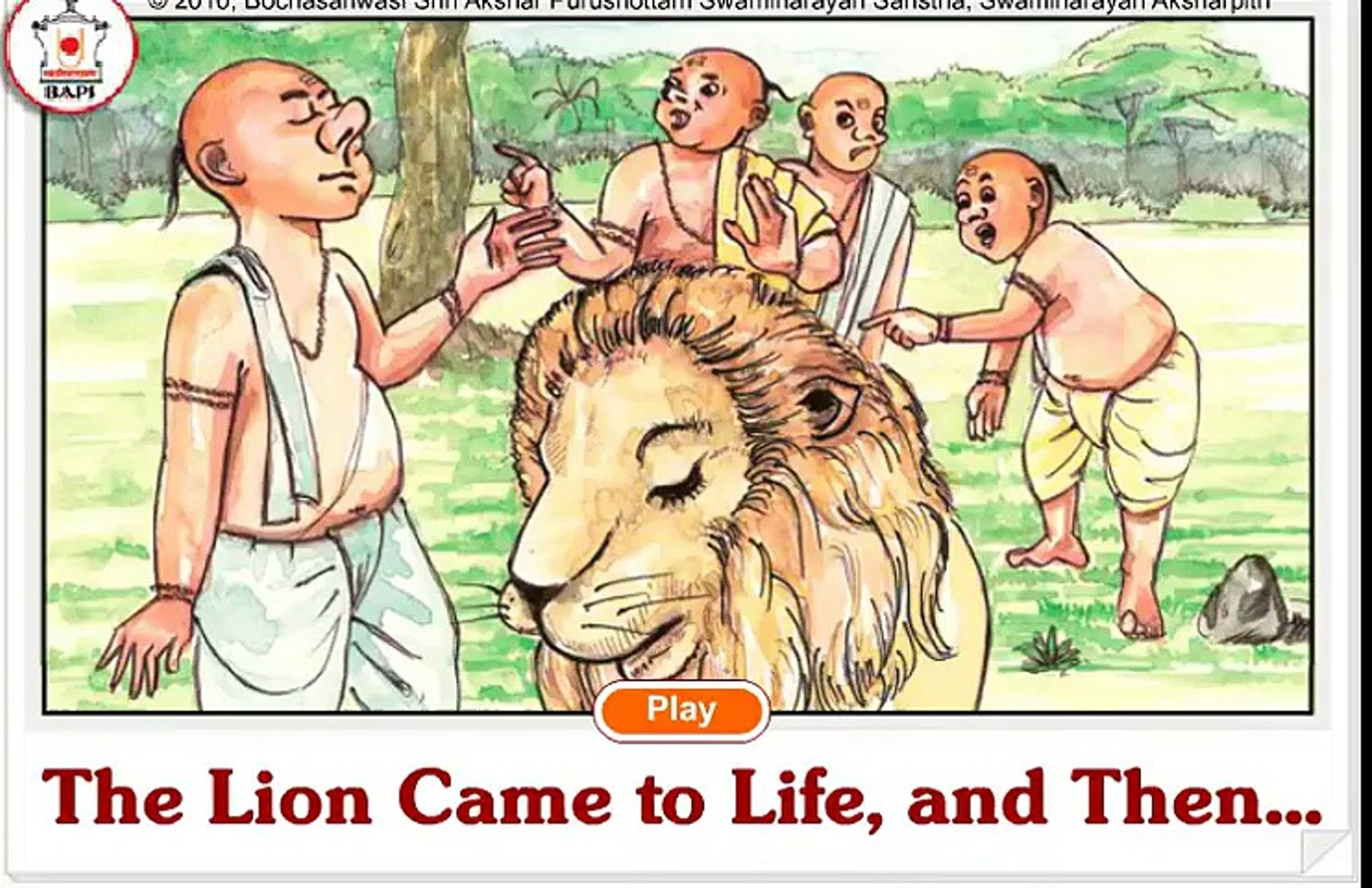 The Lion Came to Life, and Then ¦ kids stories ¦ moral stories ¦ Bedtime Stories ¦ Fairy Tales