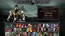 Mortal Kombat: Unchained | Goro Gameplay| PSP