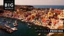 Piccola Procida (4k-Timelapse-Tiltshift-Aerial)
