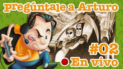 Grim Fandango #2 |Pregúntale a Arturo en Vivo (26/10/2017)