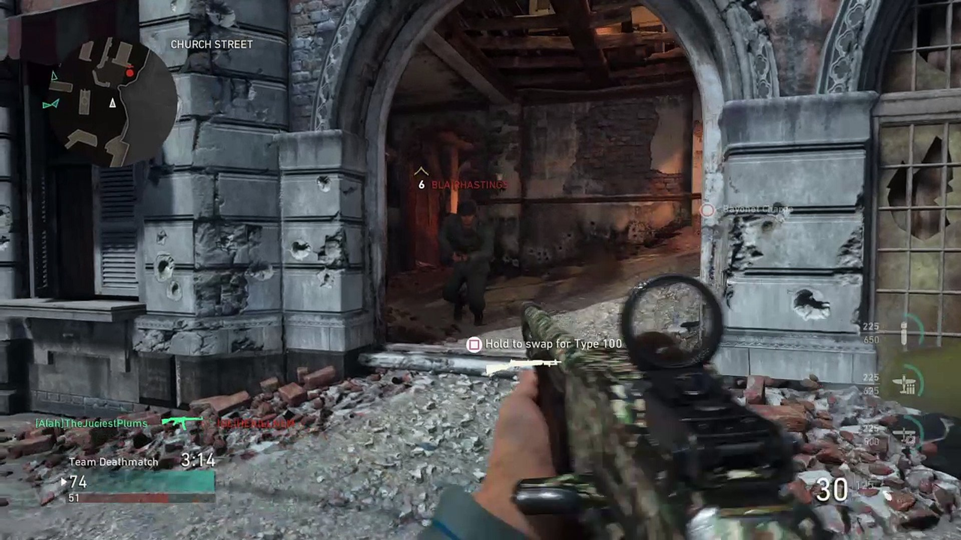 5 man multikill spray [CoD WW2]