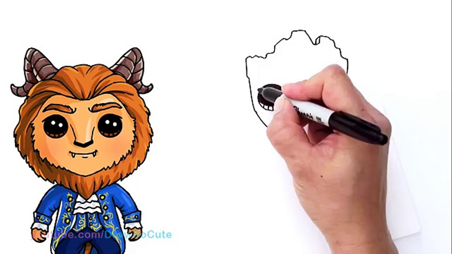 How to Draw Groot Easy | Guardians of the Galaxy