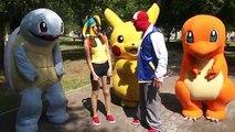 Pokemon Parodia / Manito y Maskarin / Dinosaurio y Robot