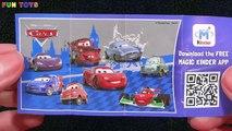 Kinder Joy Surprise Eggs Pink Blue Yellow Popsicles Fun Toys For Kids & Children Video