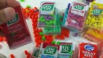 Les Différents Tic Tac / A lot of Tic Tac Candy New