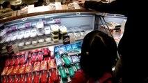 Japanese Ekiben Lunch Boxes store in Tokyo station Japan (I ate self warm up ekiben)