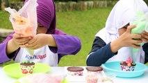 Kreasi Menghias Cupcake ft Aisyah Hanifah ❤ Bagus Banget