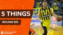 Turkish Airlines EuroLeague, Regular Season Round 6: 5 Things to Know