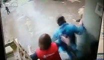 Une vendeuse mise KO par... l'arrestation d'un voleur par le vigile !