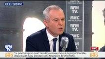 """François de Rugy: """"La GPA n'est pas à l'ordre du jour"""""""