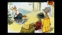 █ Сказка. Два жадных медвежонка. и . . (озвученный диафильм сказка и мультфильм).