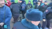 الشرطة الروسية تعتقل مئات الأشخاص في مظاهرات معارضة لبوتين