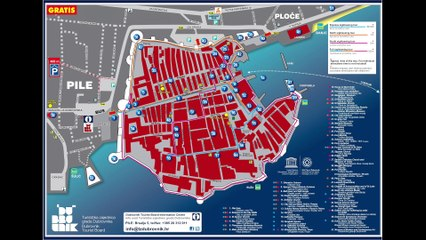 Game of Thrones Dubrovnik: Dubrovnik City Guide by location