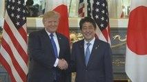 Trump y Abe exhiben una unidad sin fisuras frente a Corea del Norte