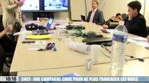SNCF : une campagne choc pour ne plus traverser les voies