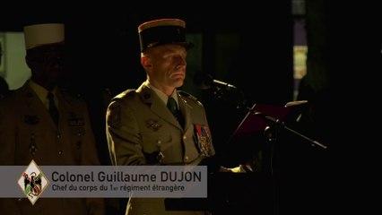 55eme Anniversaire de l'installation du 1er Régiment étranger en Provence