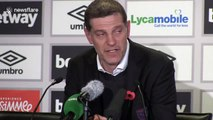 I'm the one taking bullets all the time! - Slaven Bilic's final moments as West Ham manager