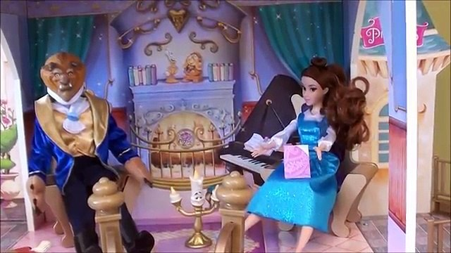 Princess Story: Beauty and the Beast, Belle, Beauty and the Beast Castle, Disney Belle Dress Set