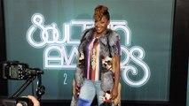 Le'Andria Johnson 2017 Soul Train Awards Arrivals