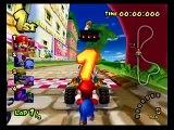 Mario Kart: Double Dash!! - Mario & Bowser - Mushroom Cup (150cc)