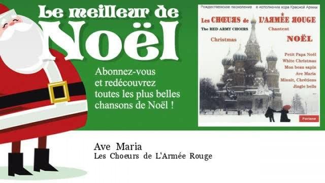 Les Choeurs de L'Armée Rouge - Ave Maria