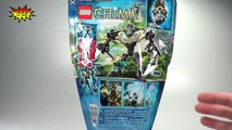 LEGO Chima CHI Gorzan Review - Legends of Chima LEGO 70202 Time-Lapse Ultra build