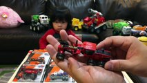 Toy Trucks - Construction Truck Toys for Kids - Matchbox Cars Real Working Rigs by FamilyToyReview