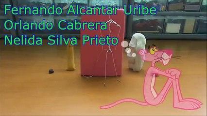 Reto plastilina (37) La pantera rosa (Mr :P)