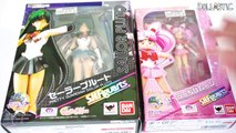 Sailor Pluto & Sailor Chibi Moon S.H.Figuarts Anime Sailor Moon Figure Unboxing and Review