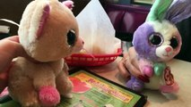 Beanie Boos: Anabelle & Bloom go to Chuys!