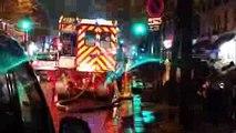 Pompiers de Paris Urgence Feu Landon PS 133, FPT 29, EPAN 31 Paris Fire Dept Responding Fire Alert