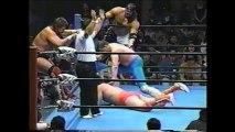 Steve Williams/Richard Slinger/Lacrosse vs Mitsuharu Misawa/Kenta Kobashi/Kentaro Shiga (All Japan June 6th, 1997)