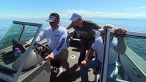 Bottom Bouncing For FAT Walleyes on Lake of the Woods Fishing Babe Winkelmans Good Fishing