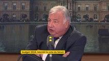 """Budget 2018 : """"Peut mieux faire"""" estime Gérard Larcher, président du Sénat #8h30Politique"""