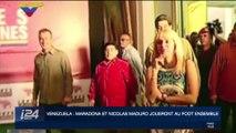 Venezuela : Maradona et Nicolás Maduro joueront au foot ensemble