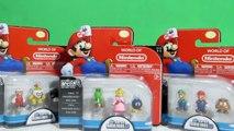 Super Mario Toys Nintendo Playset World of Nintendo Micro land Deluxe Pack Lot Deluxe Super Mario