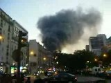 Incendie PARIS Garage Flandre riquet 75019 16/11/07 no01