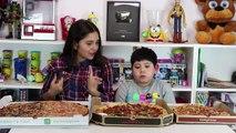 Pizza Hut VS Telepizza ¿Cual es la mejor Pizza? Batalla de Pizzas! Abrelo Toys Pizza Challenge