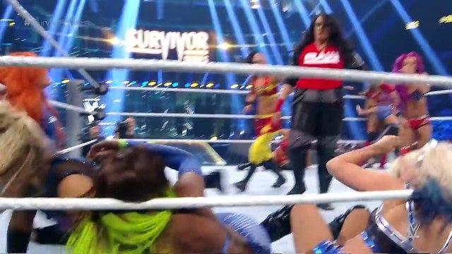 FULL MATCH - Team Raw vs Team SmackDown - 5-on-5 Survivor Series Women's Match- Survivor Series 2016 - USA SPORTS