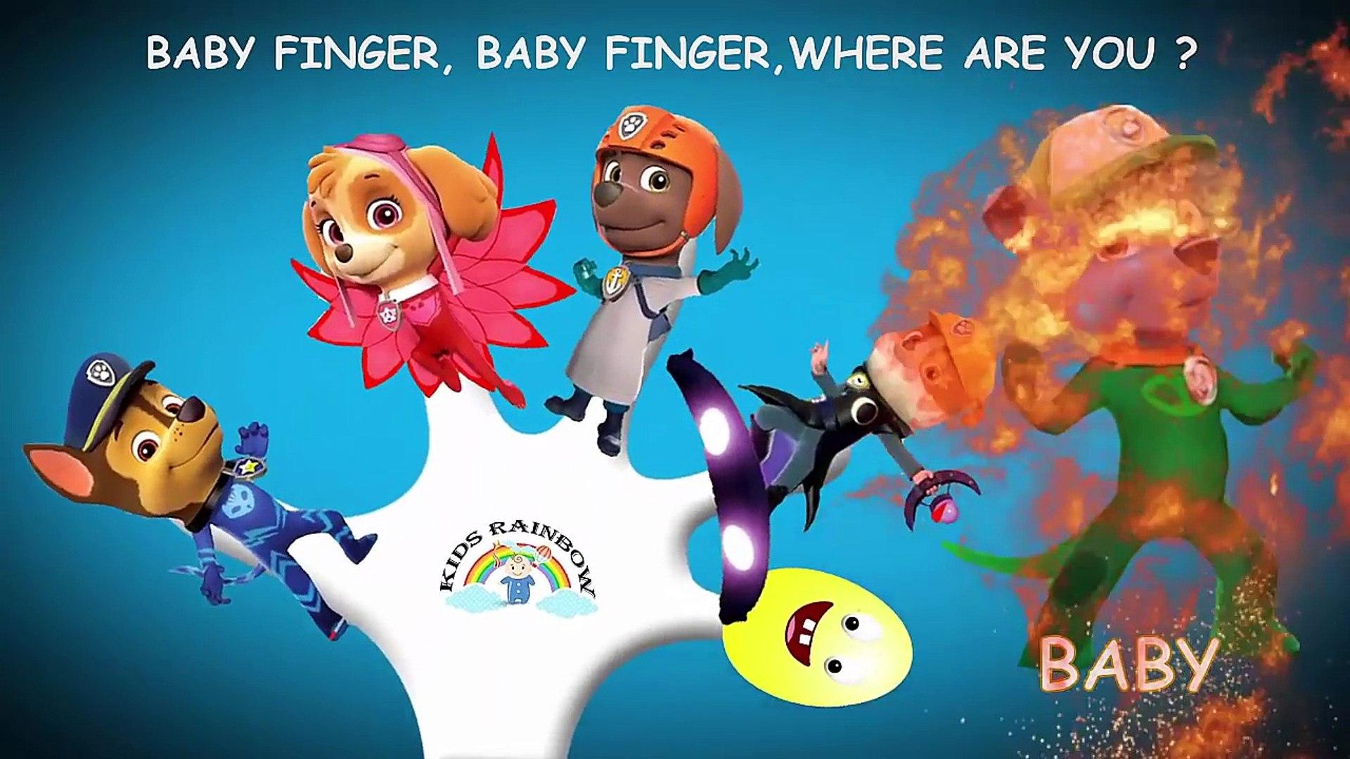 Finger Family Paw Patrol Nursery Rhymes