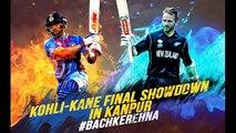India vs New Zealand 3rd ODI 2017 Full Highlights Ind Innings 337/6 ! NZ 331/6  Rohit 147  Kohli 113