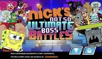 Nicks Not So Ultimate Boss Battles - Nonstop Boss Fights COMPLETE (Nickelodeon Games)