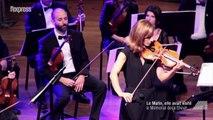 """Anne Gravoin """"rend à la vie"""" le violon d'un déporté"""