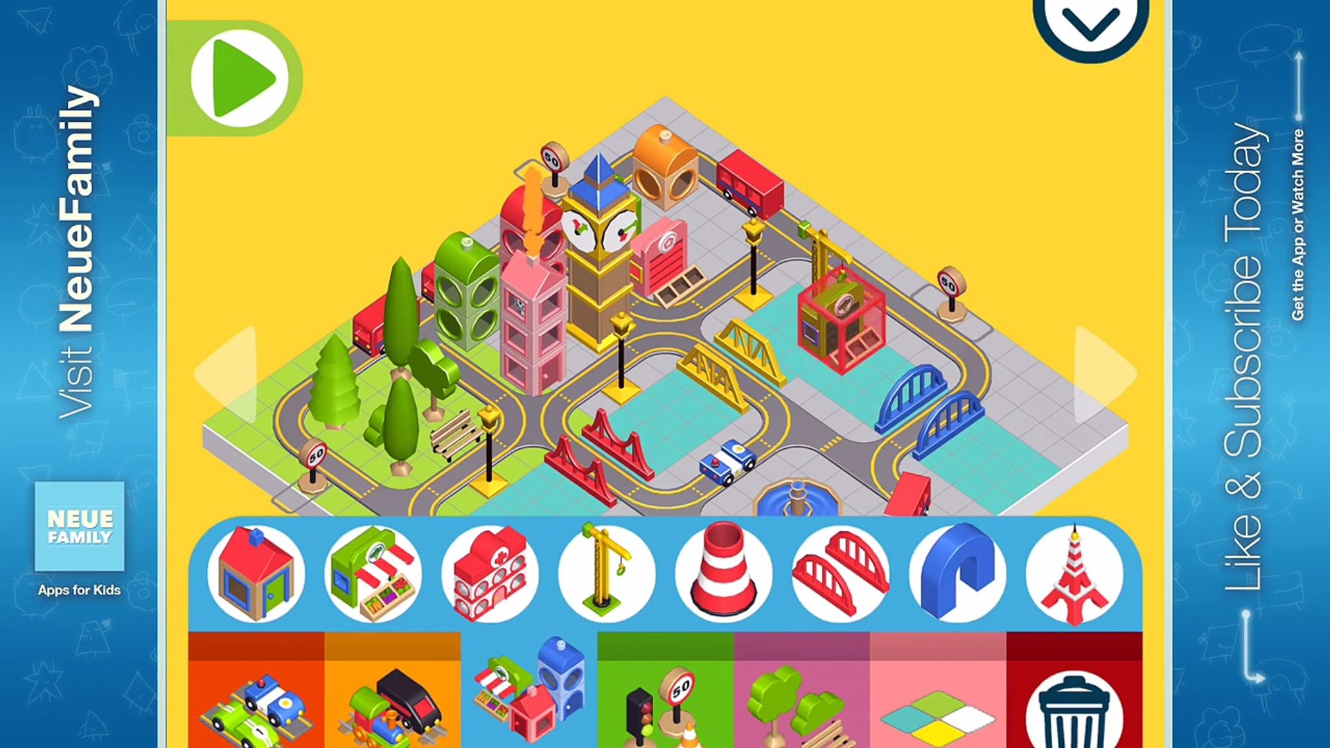 Pango Build City: Kids Activity App