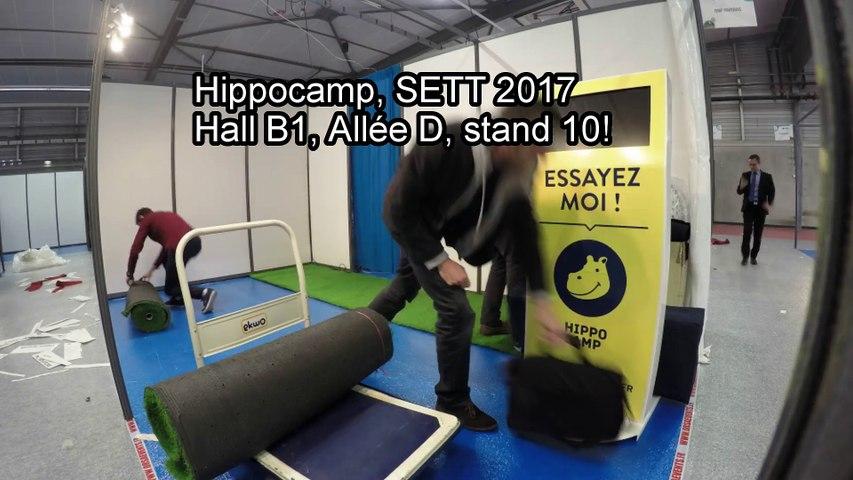 HippoCamp au salon du SETT 2017
