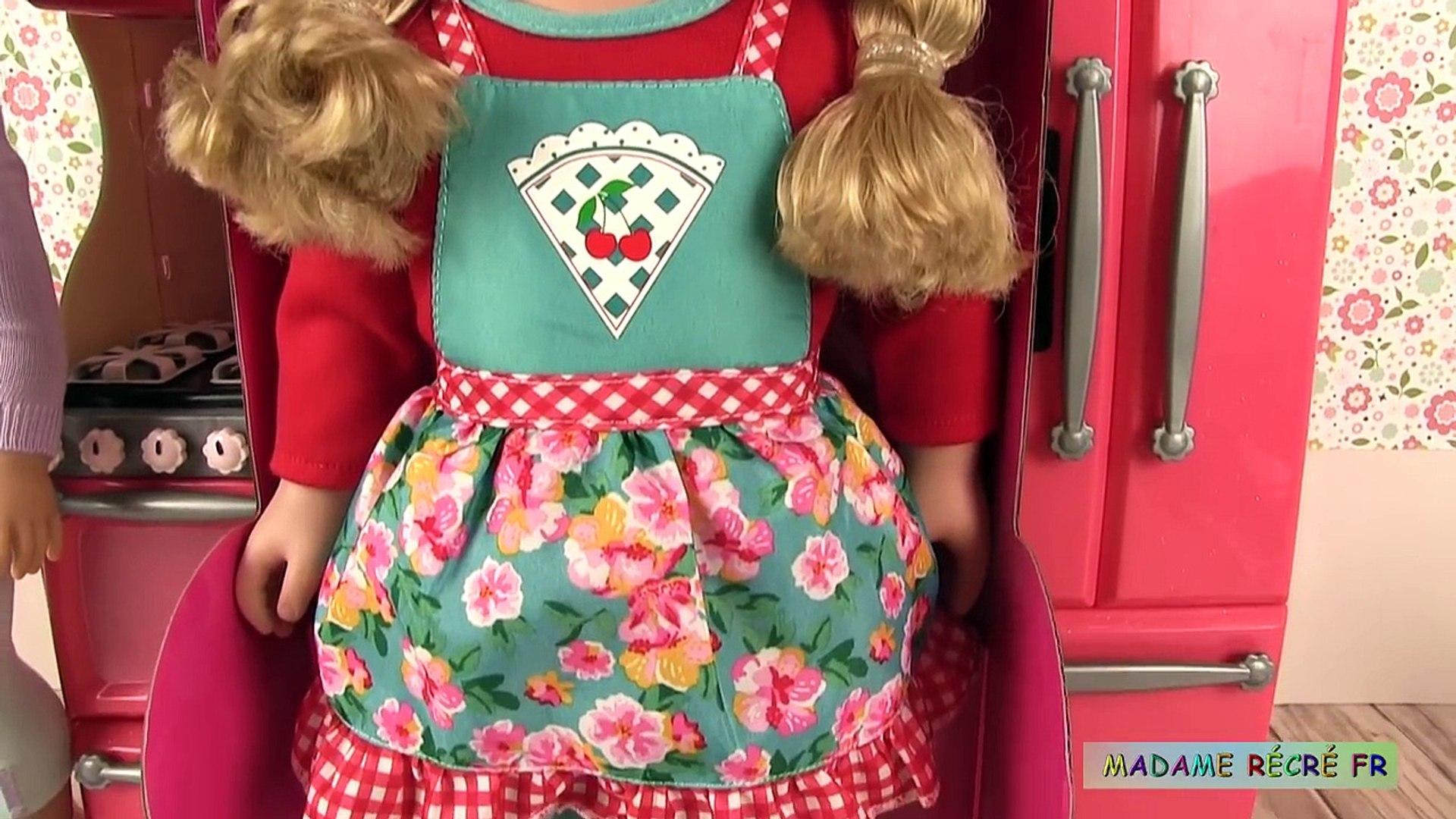 Cuisine de Poupée American Girl Fait des Gâteaux et Cookies Accessoires Set de Cuisine
