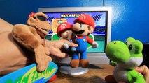 ABM: Baby Mario Vs Yoshi on Mario Tennis 64 Gameplay!! (HD 720p 60fps)