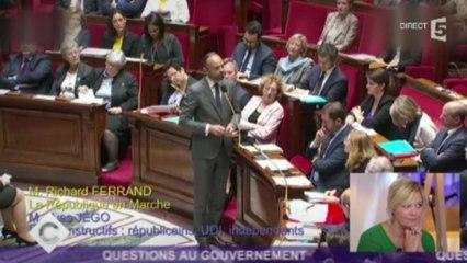 [Zap Actu]  É. Philippe veut des poursuites contre les auteurs de menaces de mort (08/11/2017)